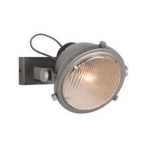 wandlamp tuk tuk burned steel metaal 20x27x21 cm perspectief