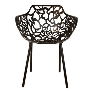 Cast magnolia stoel