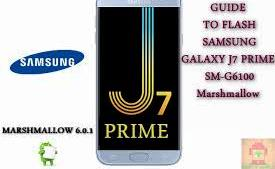 Flash Stock Rom on Samsung Galaxy J7 Prime SM-G6100
