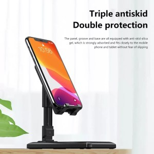 Phone Stand Desktop Tablet Holder Table Cell Foldable Extend Support Desk Mobile Phone Holder for iPhone for iPad Adjustable