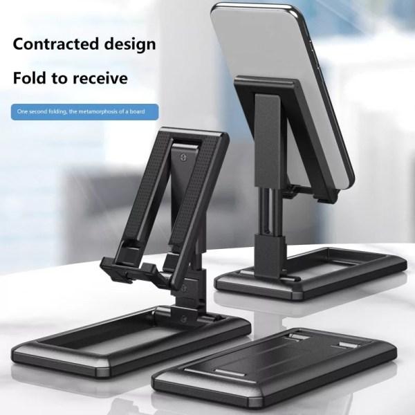 Phone Stand Desktop Tablet Holder Table Cell Foldable Extend Support Desk Mobile Phone Holder for iPhone for iPad Adjustable