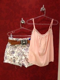 Trendy Store_Shorts floral Jeanseria