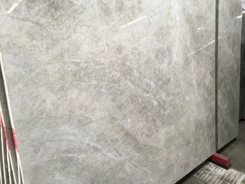 White Pearl Polished Quartzite Slab