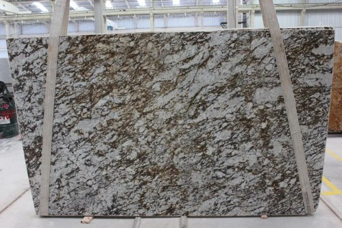 Arctic Taupe Polished  Granite Slab