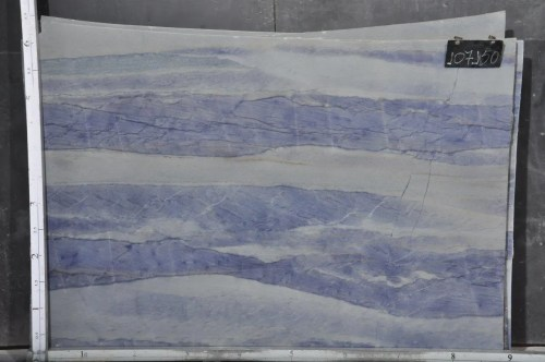 Azul Macaubas Polished Quartzite Slab