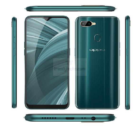 Trendy Techz Oppo A7n Smartphone Render