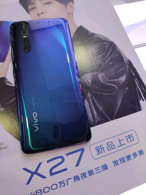 Trendy Techz Vivo X27 Smartphone hands on images leak-1