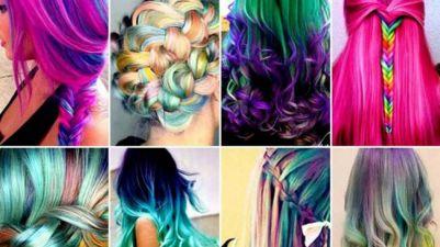 Pelo Cabello Unicornio Tendencias 2016 moda peluquería teñir decolorar trendytwo trendy two
