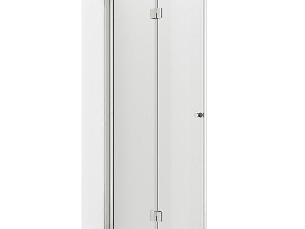 VikingBad dusjdør leddet Mats 100cm - Venstre