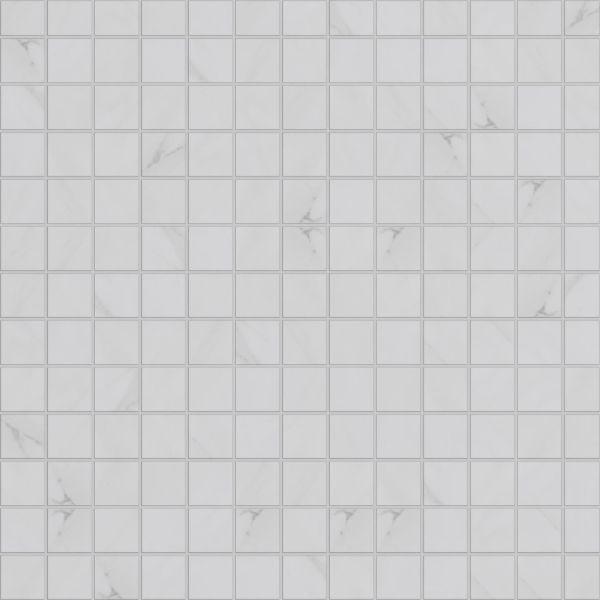 Hypnose Calacatta, mosaikk 5x5cm