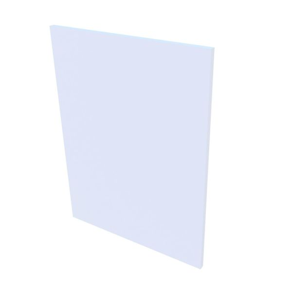 VB Sidepanel Kommode - Hvit høyglans