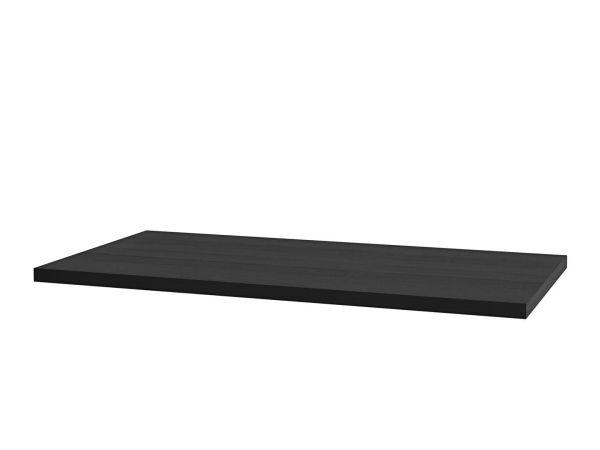 MDF benkeplate, Sort eik PVC 70-200cm