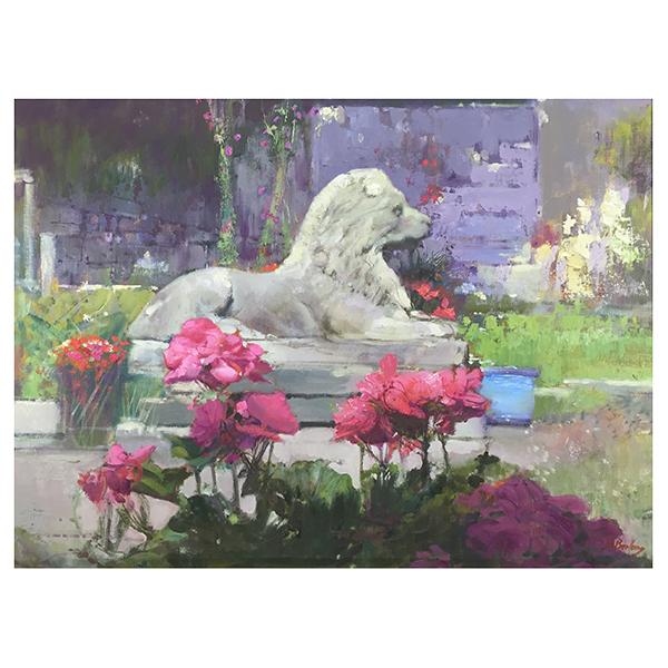 Garden-Lion-Bohuslav-Barlow-Trent-Art