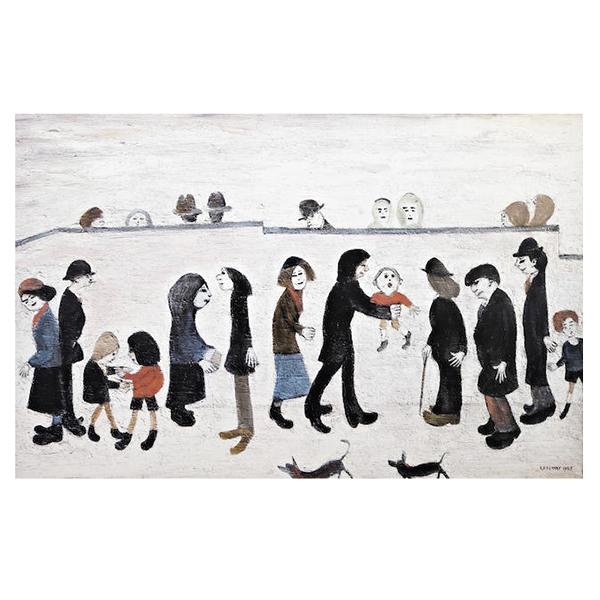 Man-Holding-Child-Laurence-Stephen-Lowry-Trent-Art