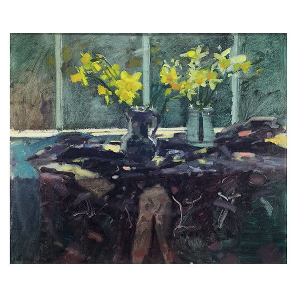 Mousehall-Daffodils-Professor-Ken-Howard-Trent-Art