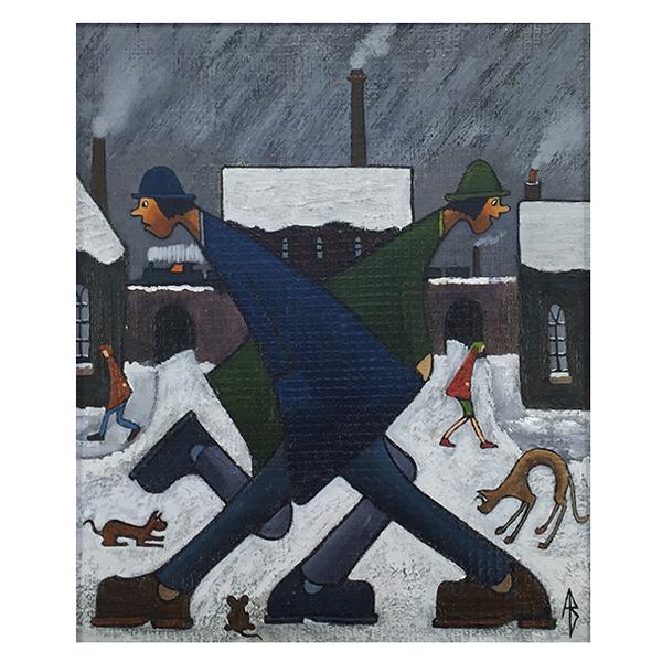 Passing-Strangers-Albert-Barlow-Trent-Art