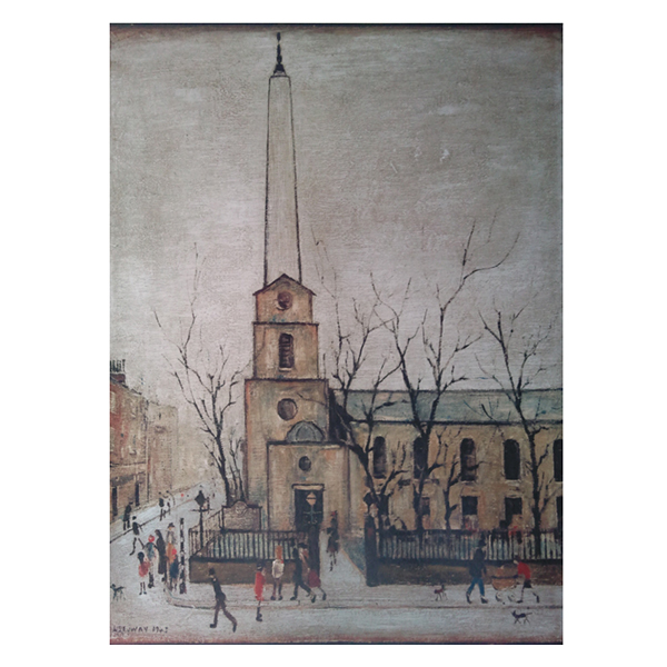 St-Lukes-Church-Laurence-Stephen-Lowry-Trent-Art