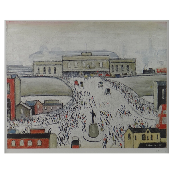 Station-Approach-Laurence-StephenLowry-Trent-Art