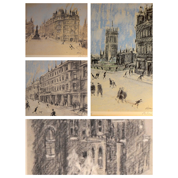 The-Deansgate-Folio-Set-of-4-Harold-Riley-Trent-Art