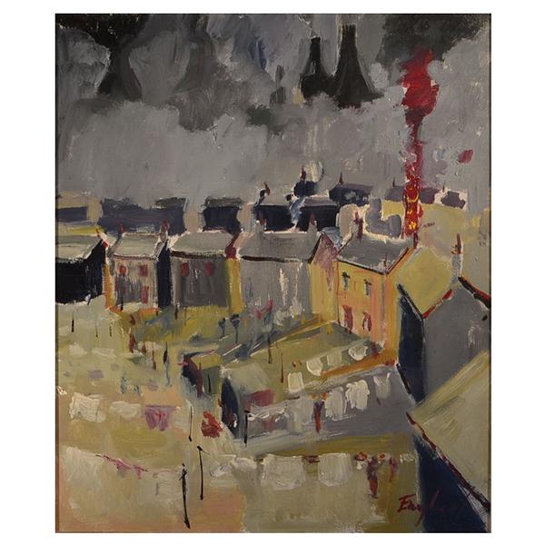 Washday-Longton-Frederick-J-England-Trent-Art