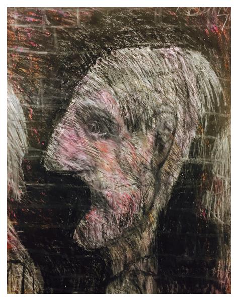 Arthur Berry Paintings The Grey Man Trent Art
