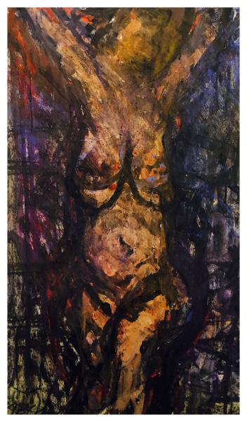 Arthur Berry Paintings Standing Nude Trent Art