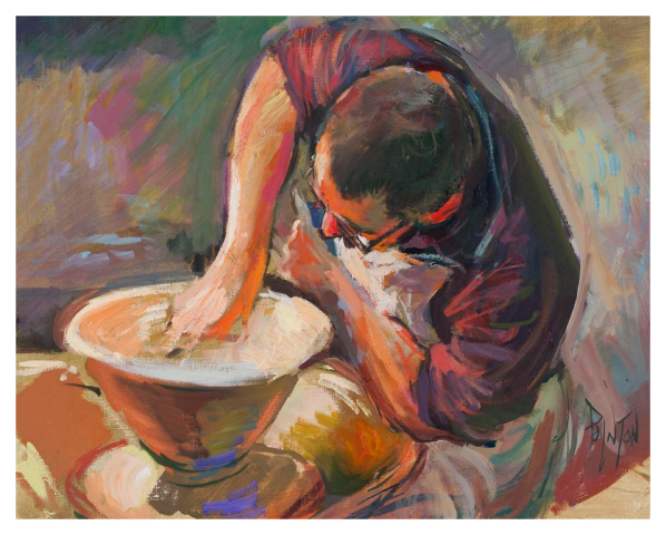 Potter at the Wheel IV, Rob Pointon