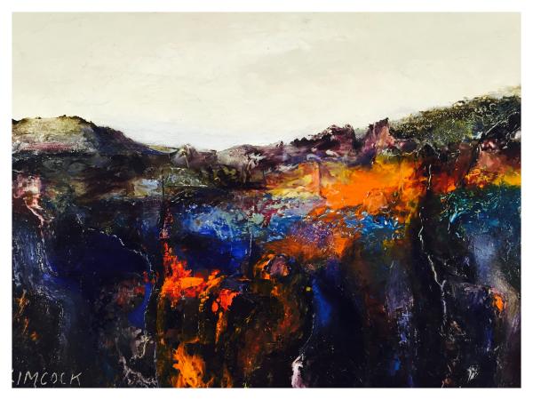 Coloured Landscape Biddulph Moor, Jack Simcock