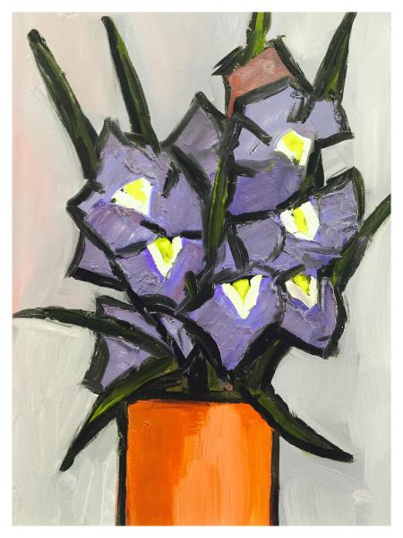 Iris Still Life, David Barnes