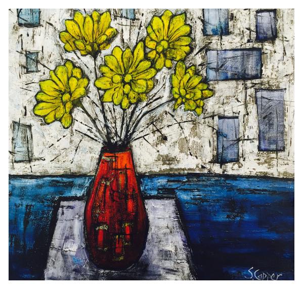 The Red Vase, Steve Capper