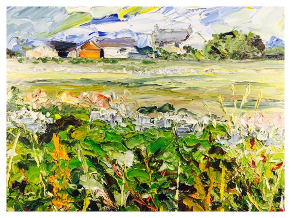 Knight, Alan (1949 – ) Farmhouse Anglesey - Trent Art