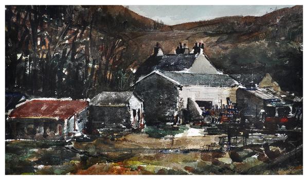 Farm Buildings, Reginald Haggar