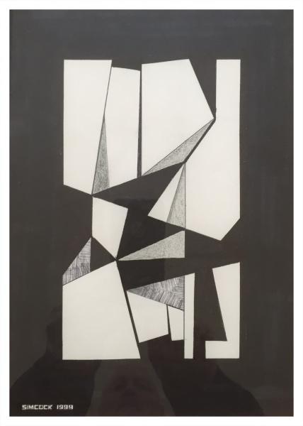 Abstract Drawing #90, Jack Simcock