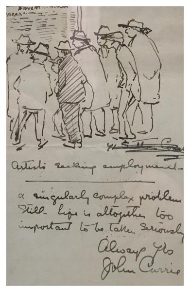 Artist Seeking Employment, John Currie