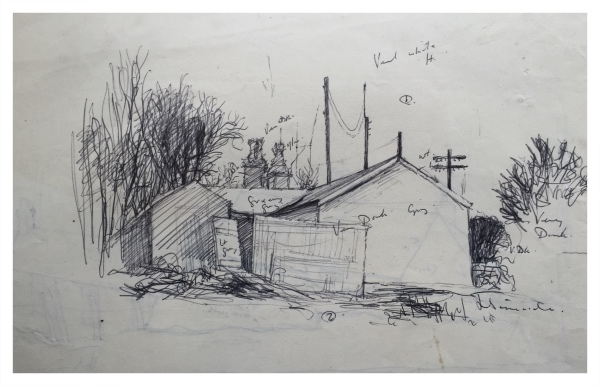 Gable End (Working Sketch), Jack Simcock