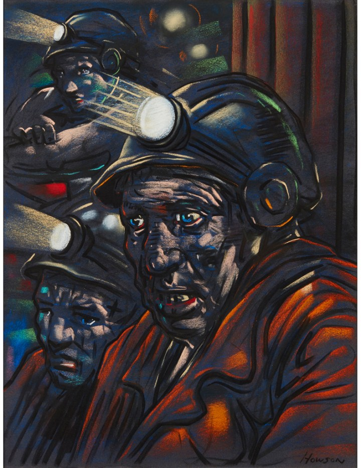 Peter Howson - Miners (Trent Art)
