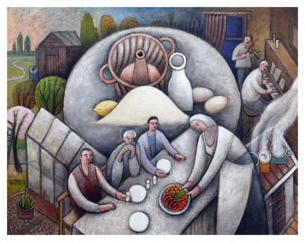 Borsky, Jiri (1945 – ) Anniversary (With Gugelhupf Cake Mould) - Trent Art