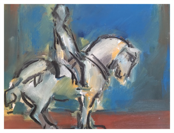 Chinese Horse, Ghislaine Howard