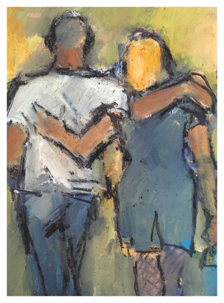 Couple Arm in Arm, Ghislaine Howard