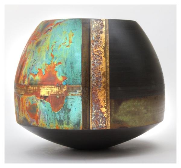 Black Porcelain Pot #3, Tony Laverick