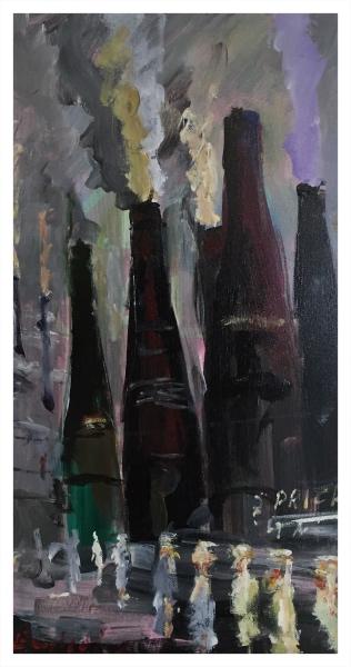 England, Frederick J NDD ATC (London) MFPS (1939 – ) The Glost Kilns - Trent Art