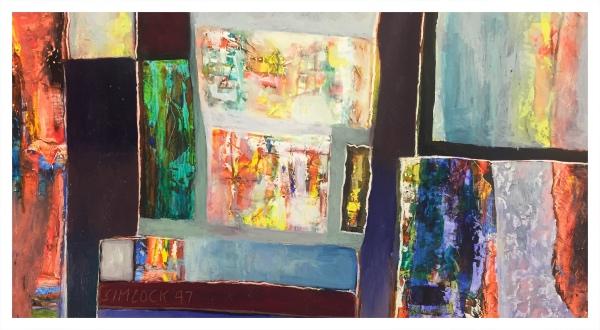 Coloured Abstrack, Jack Simcock