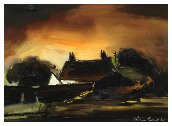 Turner, William Ralph (1920-2013) Lancashire Farm - Trent Art