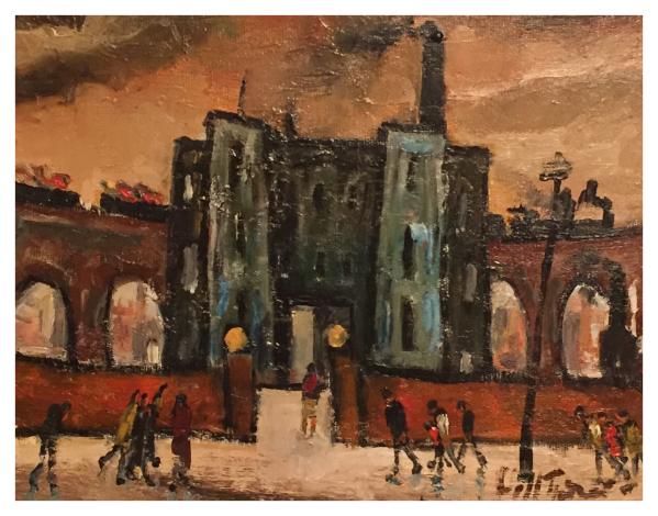 Turner, William Ralph (1920-2013) Old Warehouse, Stockport - Trent Art