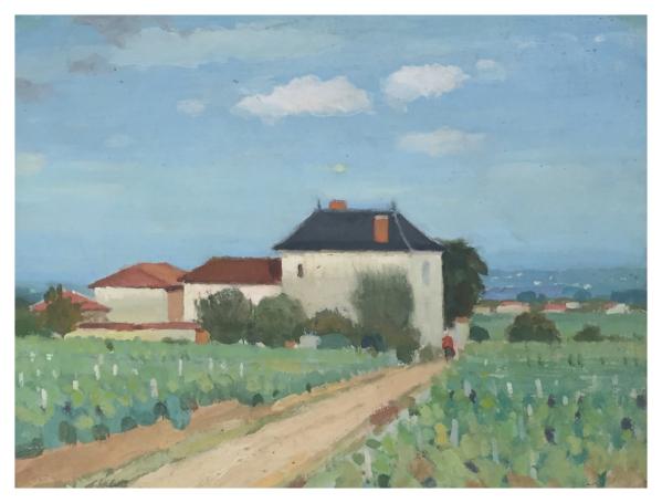 Valette, Pierre Adolphe (1876 - 1942) Le Chateau Bleu - Trent Art