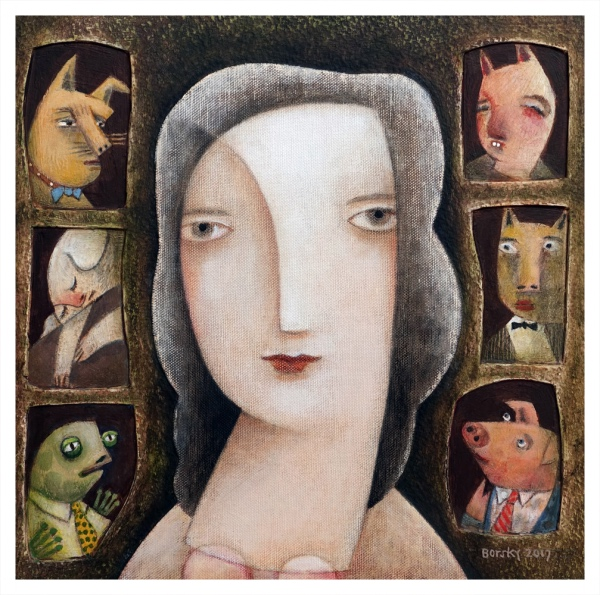 Borsky, Jiri (1945 – ) Circe - Trent Art