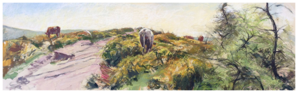 Hunt, David ( ) Cows on the Roaches - Trent Art