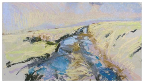 Hunt, David ( ) Path by the Mermaid Pool - Trent Art