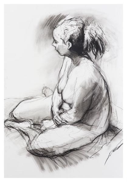 Pointon, Rob (1982 - ) Seated Female - Trent Art