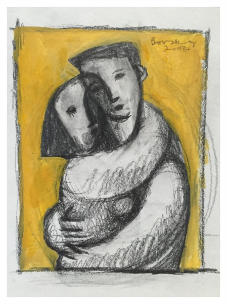 Borsky, Jiri (1945-) Embrace - Trent Art